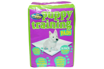 Pet Brands Puppy Toilet Training Pads (White)