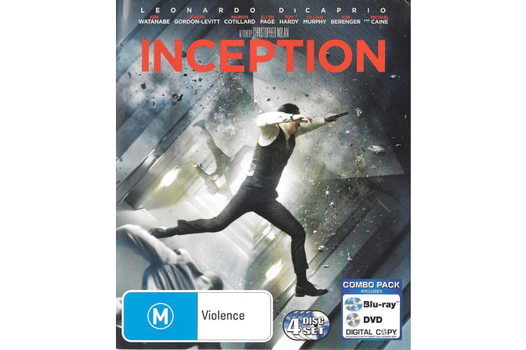 Inception - Rare- Aus Stock Blu-Ray PREOWNED: DISC LIKE NEW
