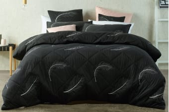 Bianca Tabu Quilt Cover Set (King)