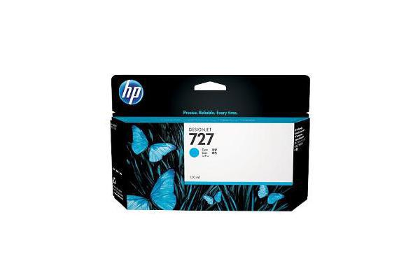 HP 727 130ml Cyan Ink Cart B3P19A