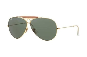Ray Ban RB3138 - Arista Gold (Grey Green lens) / 62--9--140 Unisex Sunglasses