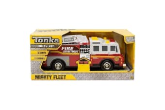 Tonka Mighty Fleet Fire Engine