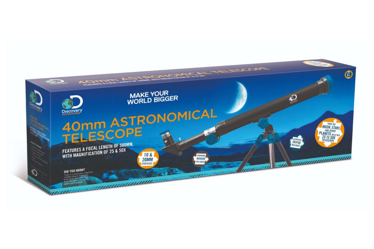 Discovery Adventure 40mm Astronomical Telescope
