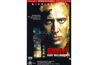 8MM - Region 4 Rare- Aus Stock DVD PREOWNED: DISC LIKE NEW