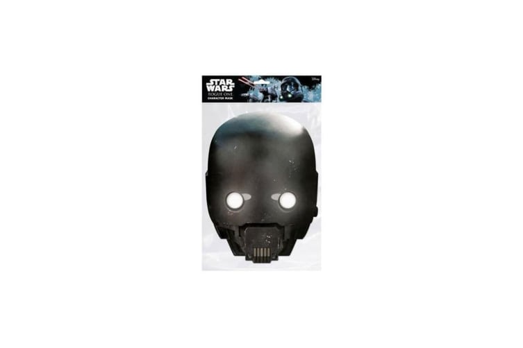 Star Wars Rogue One K-2SO Mask (Grey) (One Size)