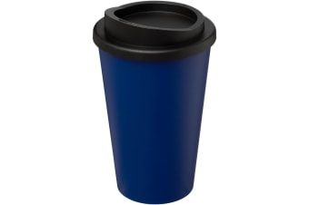 Americano 350ml Insulated Tumbler (Blue/Solid Black)