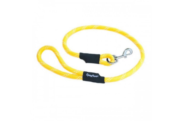 Zippy Paws Climbers Rope Leash Original (Yellow) (6FT)