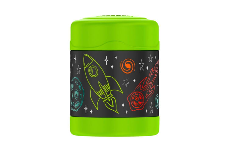 Thermos FUNtainer Stainless Steel Vacuum Insulated Food Jar 290ml Astronaut
