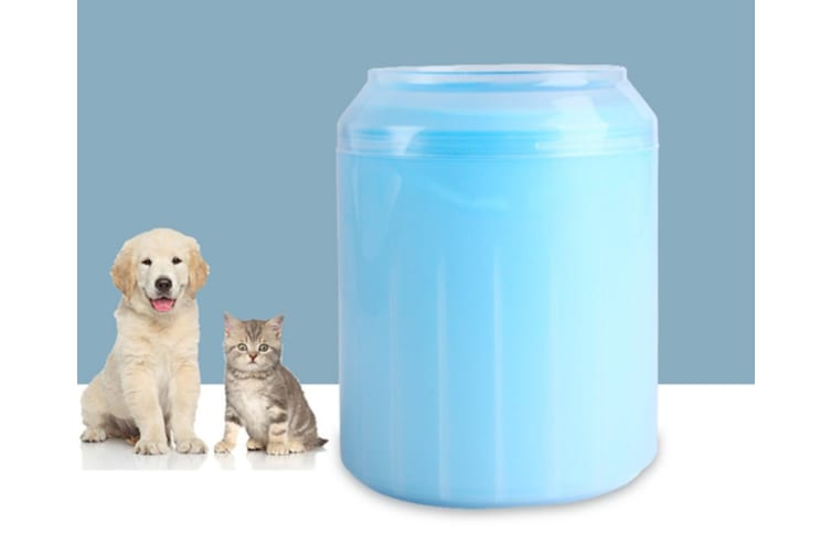 Pet Foot Washing Cup Washes Cats and Dogs Feet Automatically  S