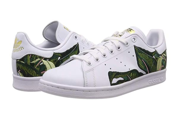 Adidas Originals x THE FARM Company Women's Stan Smith Shoes (White/Gold, Size 8)