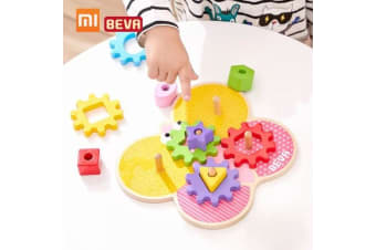 Xiaomi BEVA Kids Building Blocks DIY Educational Toy Gear Blocks Early Educational Toys For Smart Home Gifts for Kids 11pcs