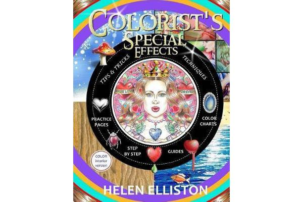 Colorist's Special Effects - Color Interior - Step by Step Guides to Making Your Adult Coloring Pages Pop!