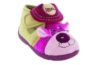 Mirak Bungle Childrens Touch Fastening Slipper / Girls Slippers / Childrens Slippers (Pink) (28 EUR)