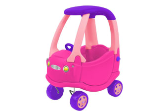 Kids Go Go Buggy Car Ride On - Pink