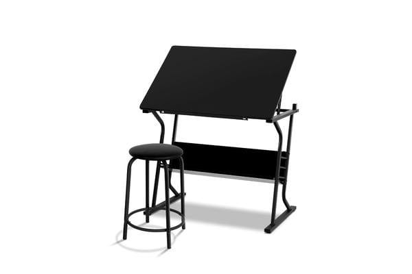 Dick Smith Drawing Desk Drafting Table Craft Adjustable Glass Art