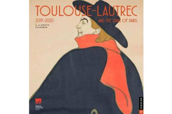 Toulouse-Lautrec and the Stars of Paris - 2019-2020 Wall Calendar