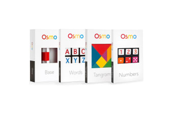 OSMO Education STEM Genius Kit (Base Included). Our classic kit. Includes: Number