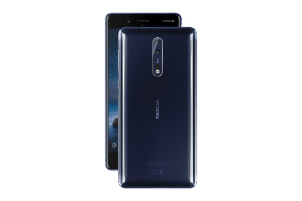 Nokia 8 (64GB, Polished Blue)