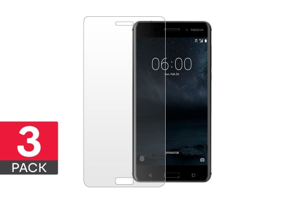 3 Pack Screen Protector for Nokia 6