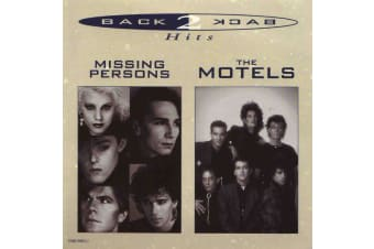 Missing Persons / The Motels – Back 2 Back Hits MUSIC CD NEW SEALED