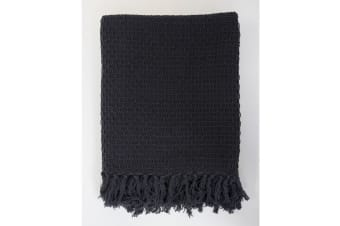 Jamie Durie By Ardor Nouvel Throw (Charcoal)
