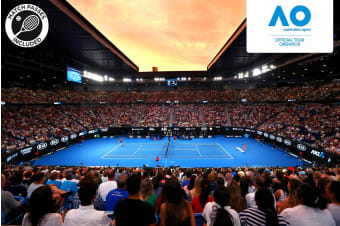MELBOURNE : AO Semifinals Including 3 Nights Accommodation for Two