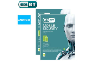 2x ESET Android Mobile Device Security Internet Protection 1yr/Software Download
