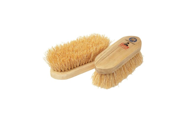 Equerry Wooden Mexican Whisk Fibre Dandy Brush (Natural) (One Size)
