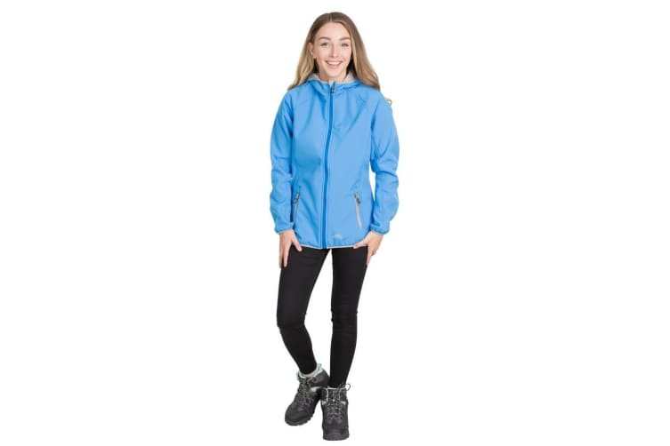 Trespass Womens Emery Softshell Fleece (Vibrant Blue) (L)