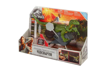 Jurassic World Rip-Run Dinos Velociraptor Green