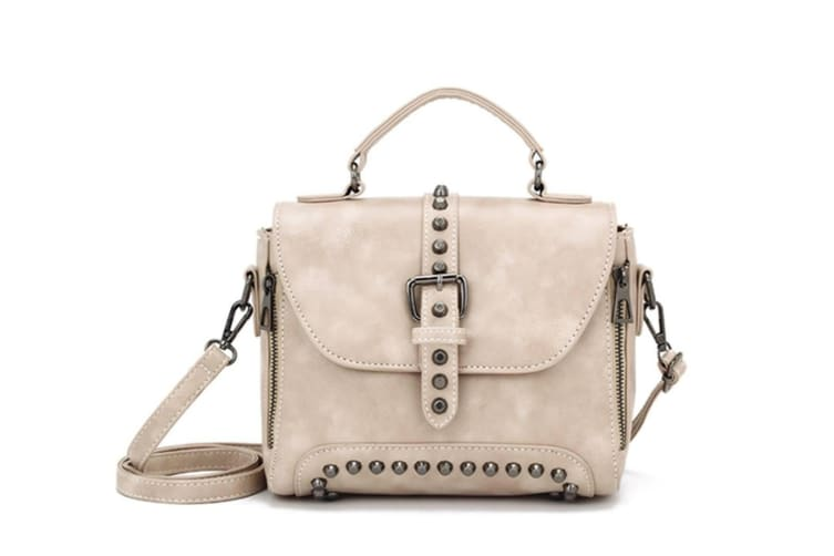 Rivet Bag Handbag Bag Cross-Border Bag Tote Bag Beige