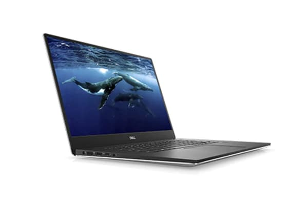 "Dell XPS 15 9570 15.6"" 4K Touch Screen Laptop (i7-8750H, GTX 1050 Ti, 32GB RAM, 1TB, Silver) - Certified Refurbished"