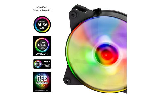 Cooler Master MasterFan Pro RGB Cooling Fan 120mm Air Pressure Cooling Fan
