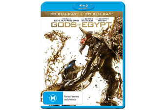 Gods of Egypt 3D Edition with 2D Edition Blu-ray Region B