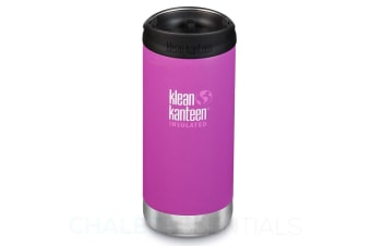 KLEAN KANTEEN TKWIDE INSULATED 12oz 355ml BERRY BRIGHT W/ Cafe Cap