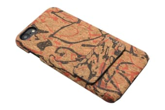For iPhone 8 7 Case Colourful  Cork Durable Back Shell Shielding Cover