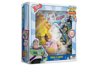 Disney Toy Story 4 Press O Matic Board Family Activity Fun Game Kids Toys 3y+