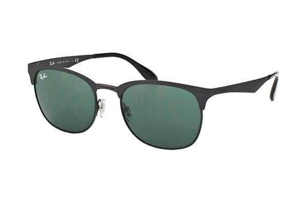 Ray-Ban RB3538 53mm - Black (Dark Grey Green lens) Unisex Sunglasses