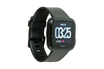 Fitbit Versa Smart Fitness Watch (Black)