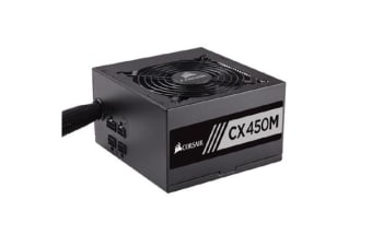 Corsair 450W CXM 80+ Bronze Semi-Modular 120mm FAN ATX PSU 3 Years Warranty