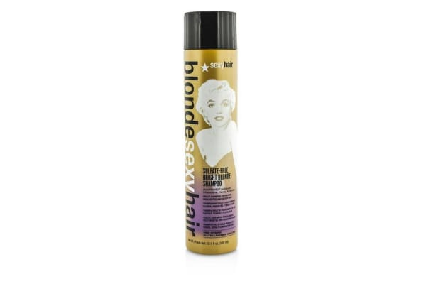 Sexy Hair Concepts Blonde Sexy Hair Sulfate-Free Bright Blonde Shampoo (For Blonde, Highlighted and Silver Hair) (300ml/10.1oz)