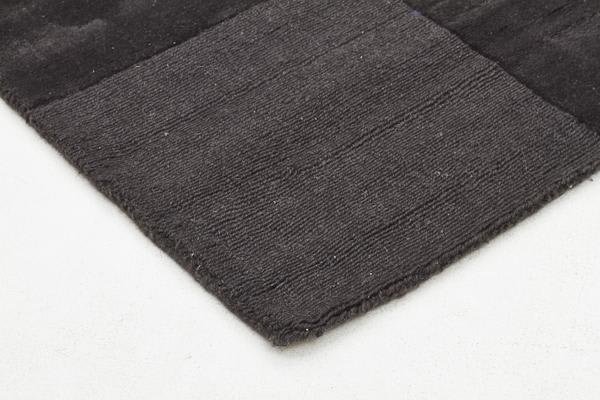 Wool Hand Tufted Rug - Box Pewter - 225x155cm