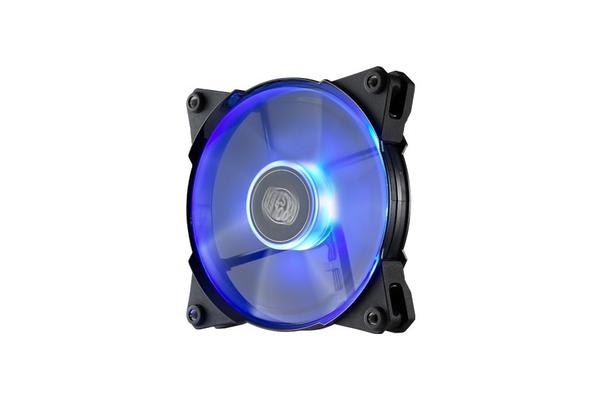 Coolermaster Jetflo 120mm 4Pin PWM Case Fan with Blue LED
