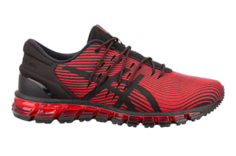 ASICS Men's Gel-Quantum 360 4 Running Shoe (Red Alert/Black, Size 7)