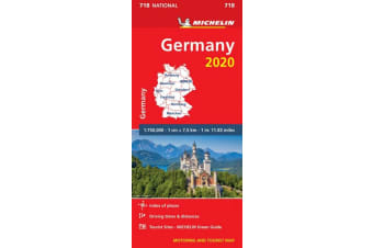 Germany 2020 - Michelin National Map 718 - Map