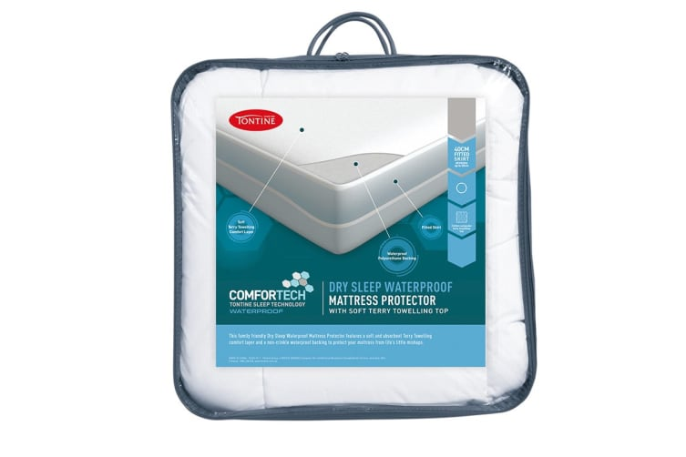 Tontine Comfortech Waterproof Fitted Mattress Protector (King)