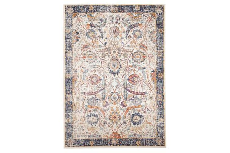 Peacock Ivory Transitional Rug 400x300cm