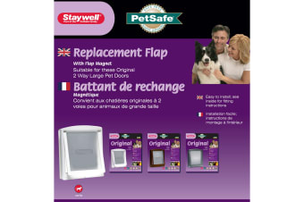 Petsafe Staywell Replacement Flap For 700 Series (Clear) (Medium)