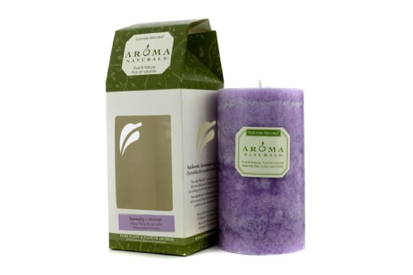 Aroma Naturals Authentic Aromatherapy Candles - Serenity (Ylang Ylang & Lavender) ((2.75x5) inch)