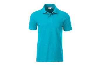 James and Nicholson Mens Basic Polo (Turquoise) (M)